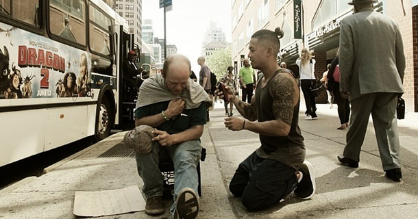 What This Hairdresser Did For Homeless People Will Restore Your Faith In Humanity